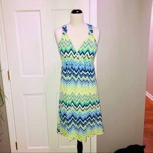 | Nicole Miller | Chevron Dress